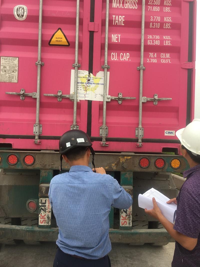 Hàng đã về tại nhà Chú Lân tại Bắc Giang