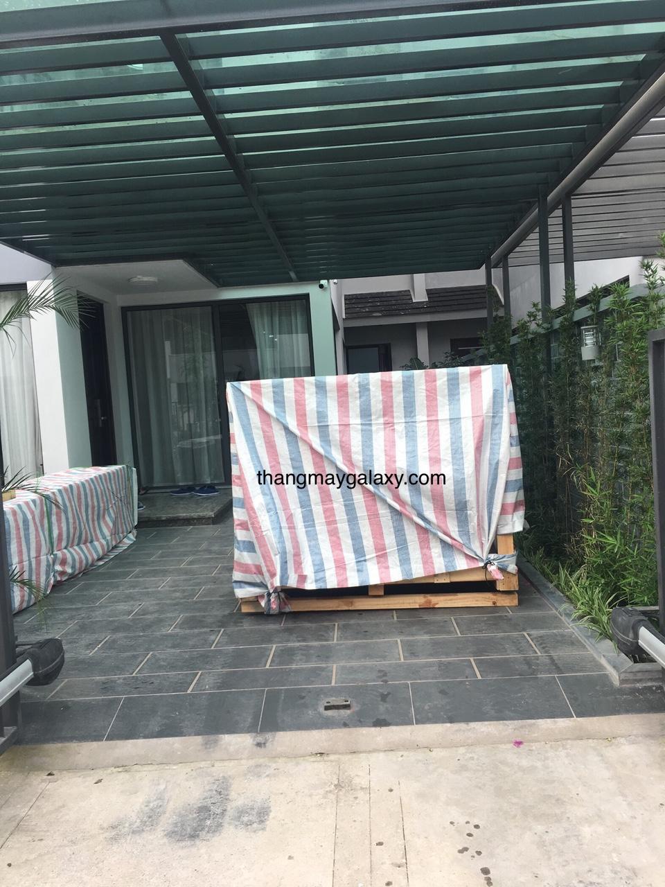 Hàng thang Hitchi đã về tơi nhà a Đức - Hà Nội